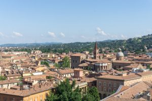 Views from the Tower in Bologna