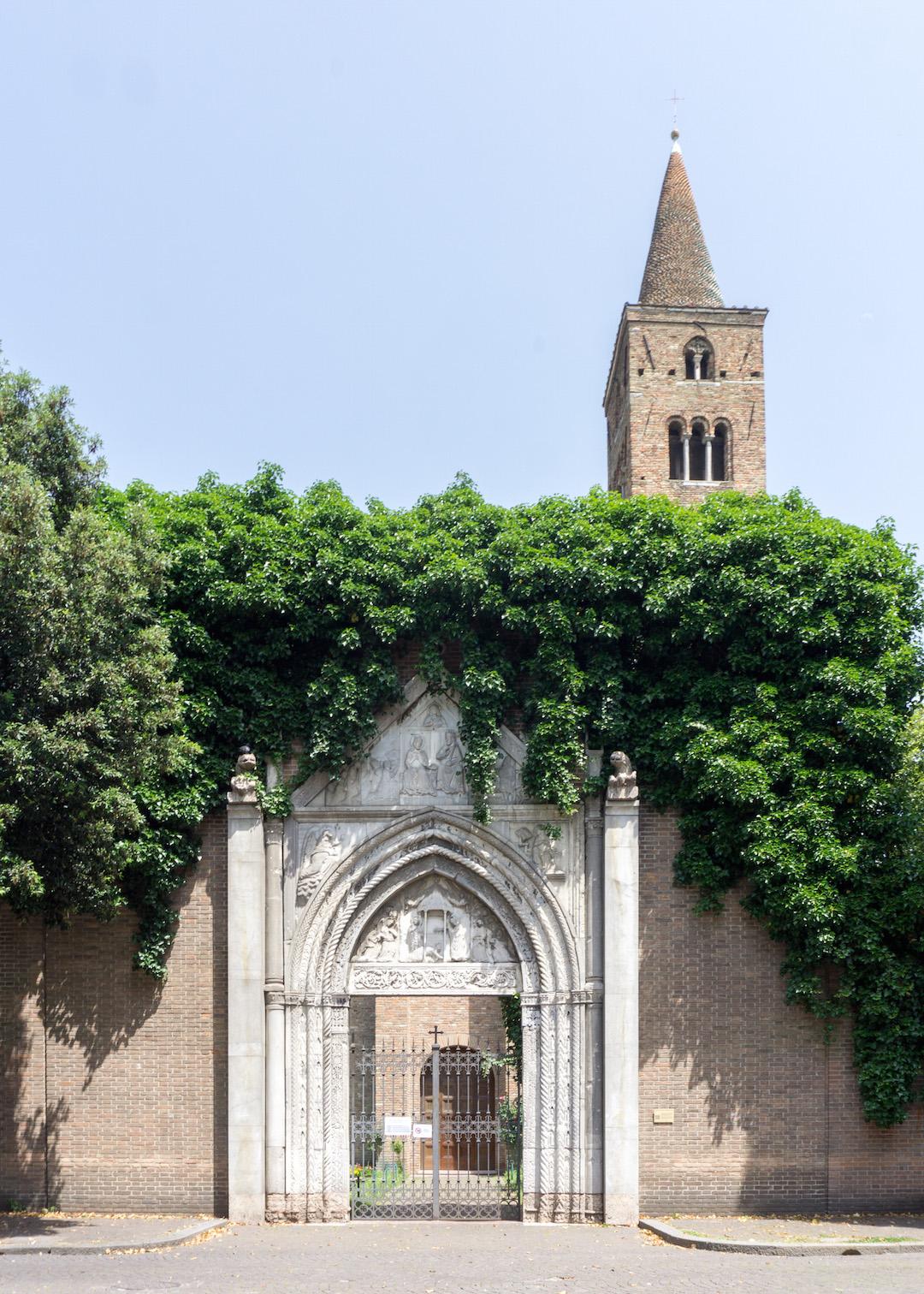Pretty Wall in Ravenna