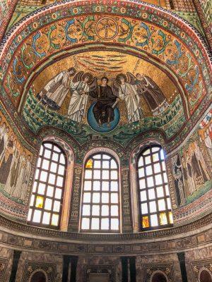 Murals at the Basilica di San Vitale in Ravenna