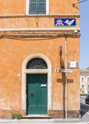 Street Sign Murals in Ravenna