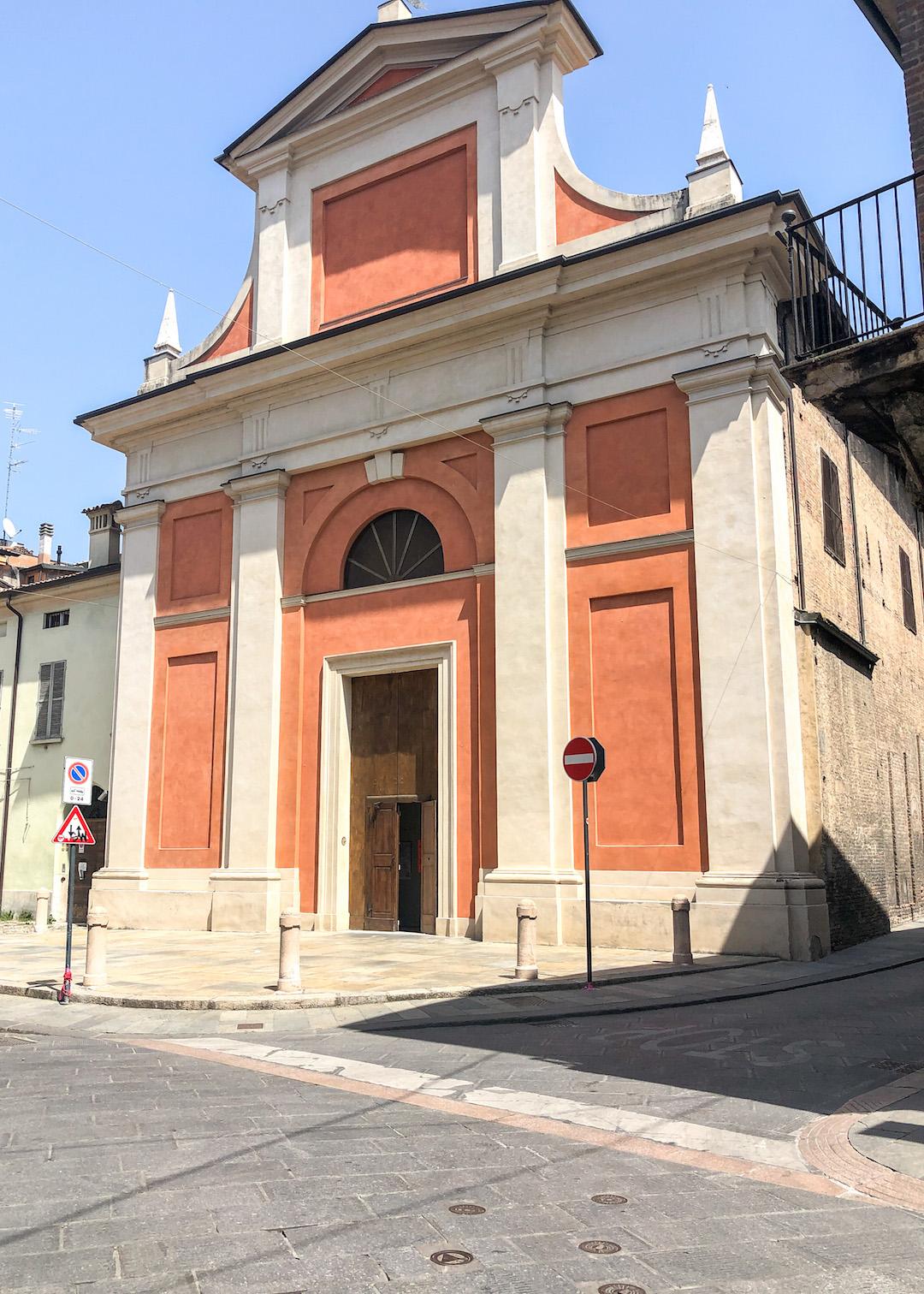 Colorful Streets of Reggio Emilia