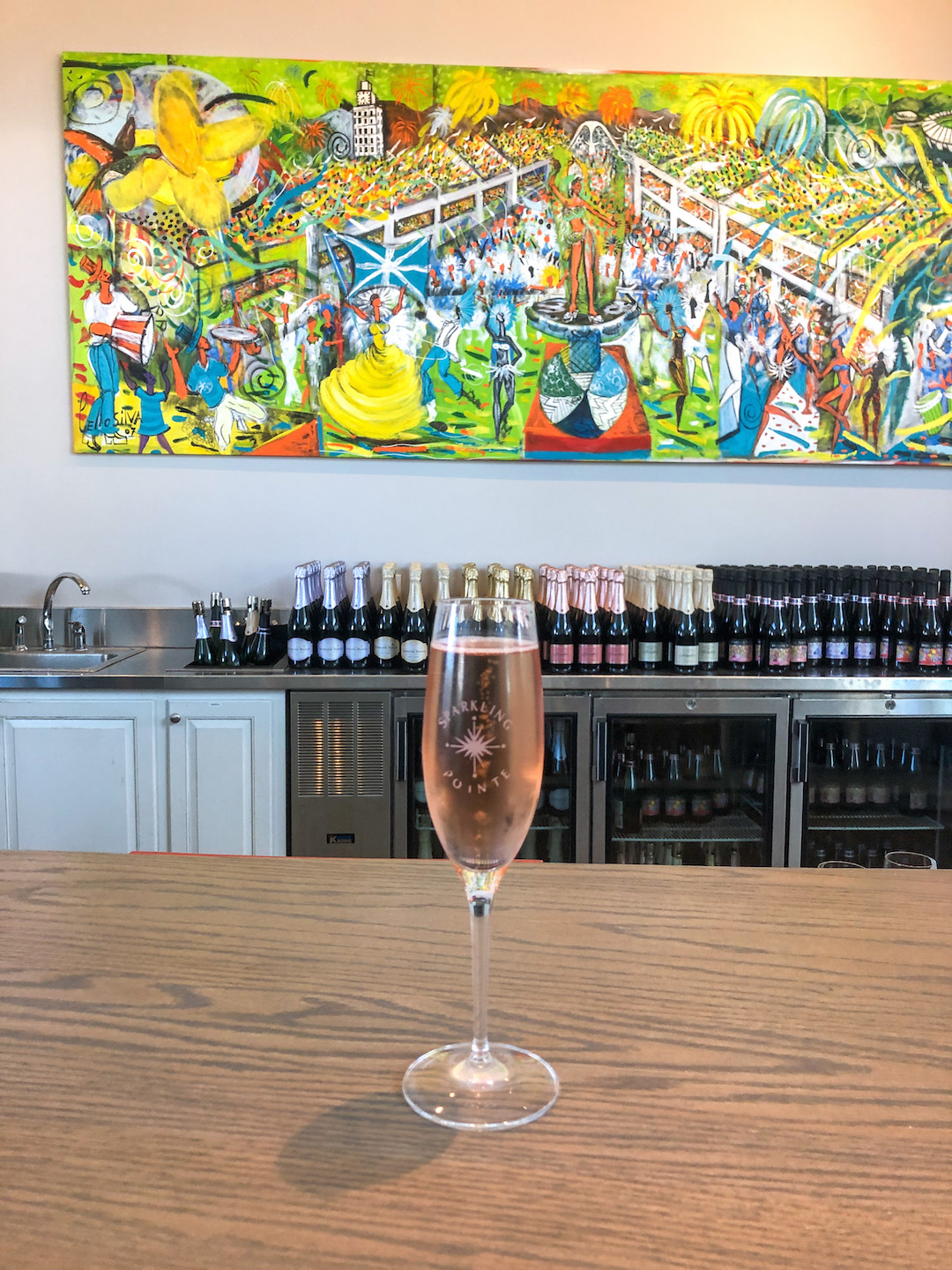 Sparkling Pointe Winery, North Fork