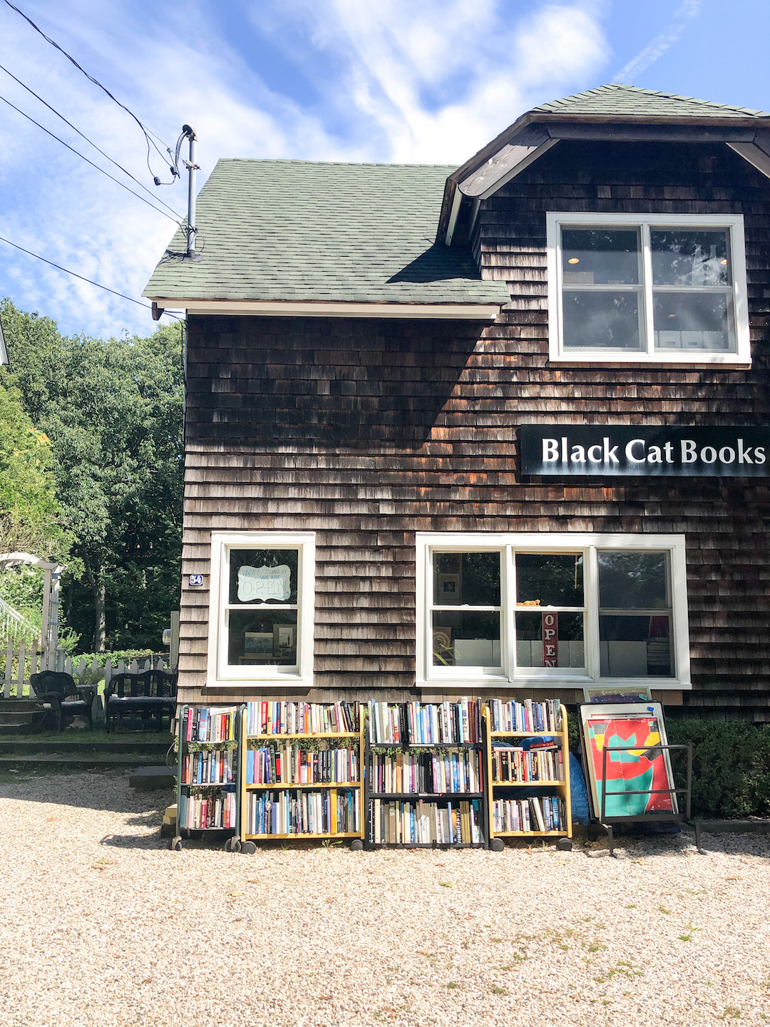 Black Cat Books on Shelter Island