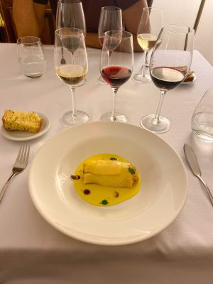Food and Wine at Casa Coupage