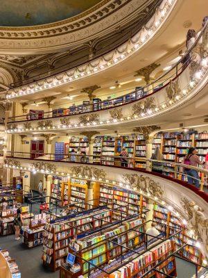 El Ateno Grand Splendid Bookstore in Buenos Aires