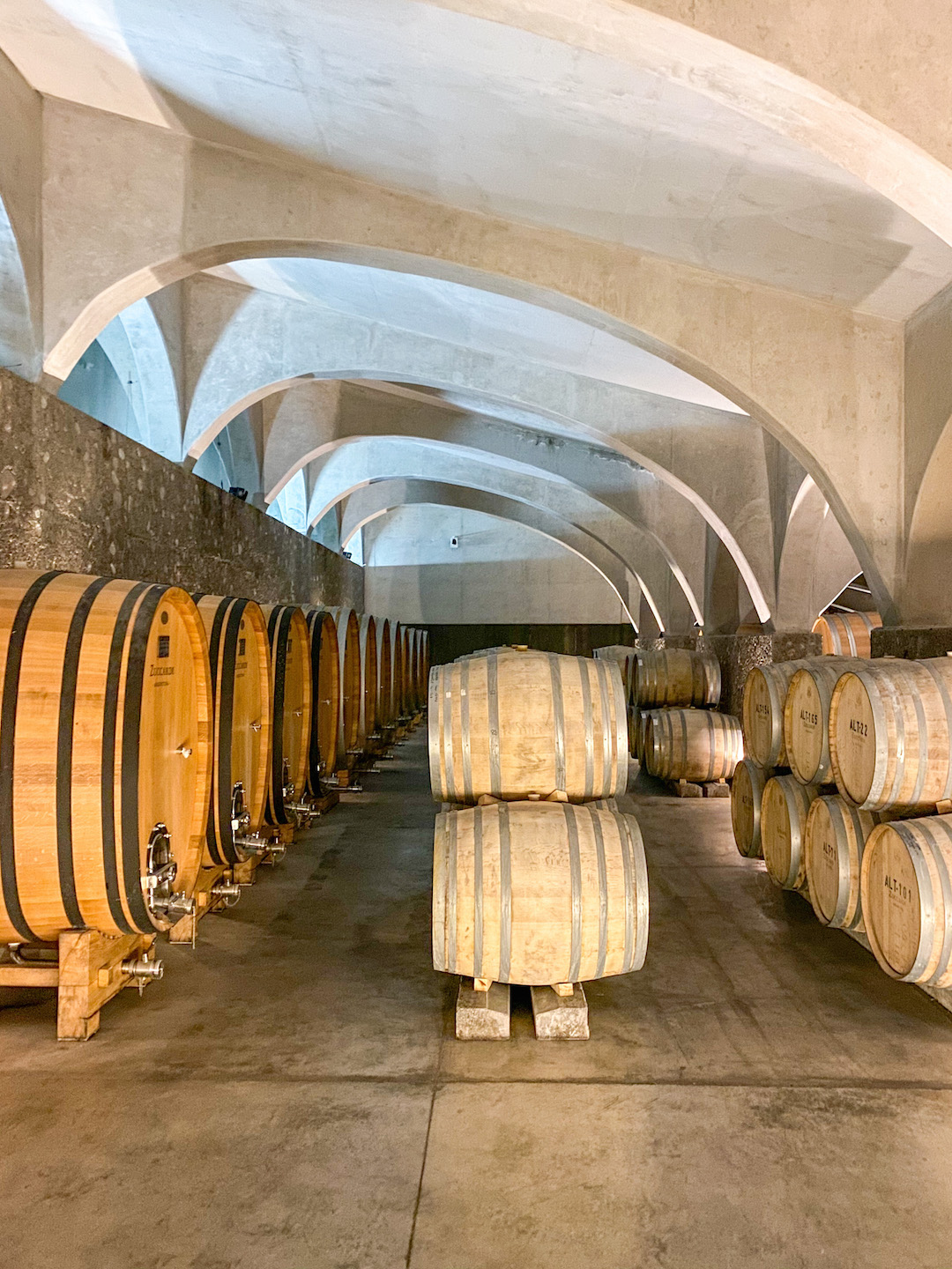 Zuccardi Barrel Room