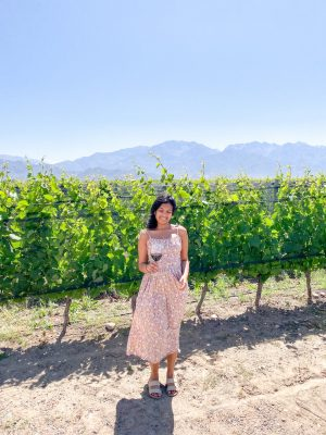 Her Travel Edit at Zuccardi Vineyards