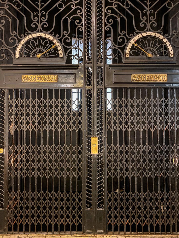 Palacio Barolo Elevators in Buenos Aires