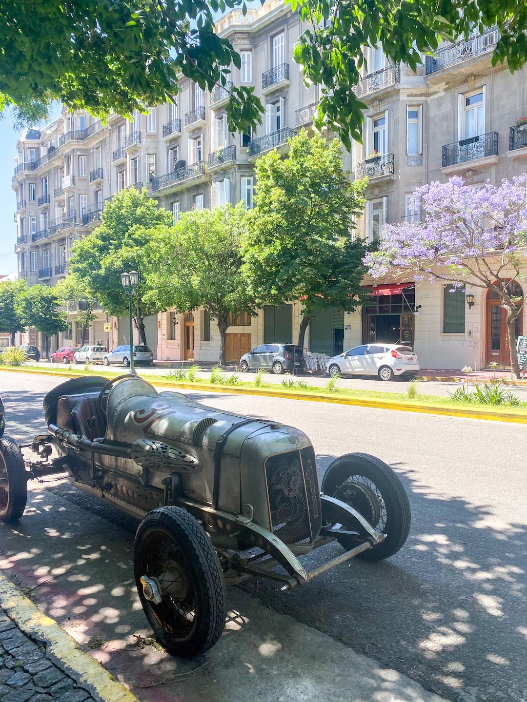 Street in San Telmo Buenos Aires