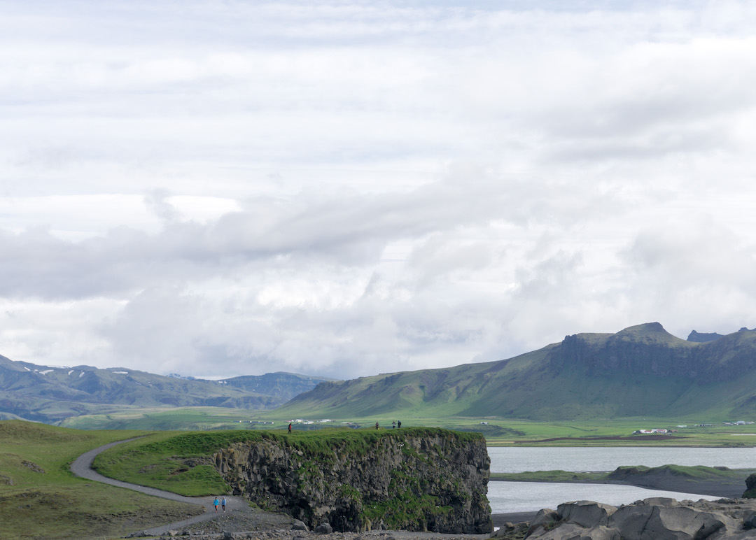 Views from Dyrholaey in Iceland