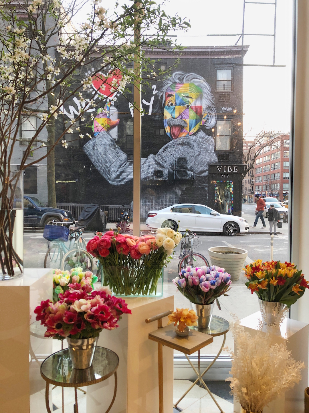 A Flower Shop in NYC