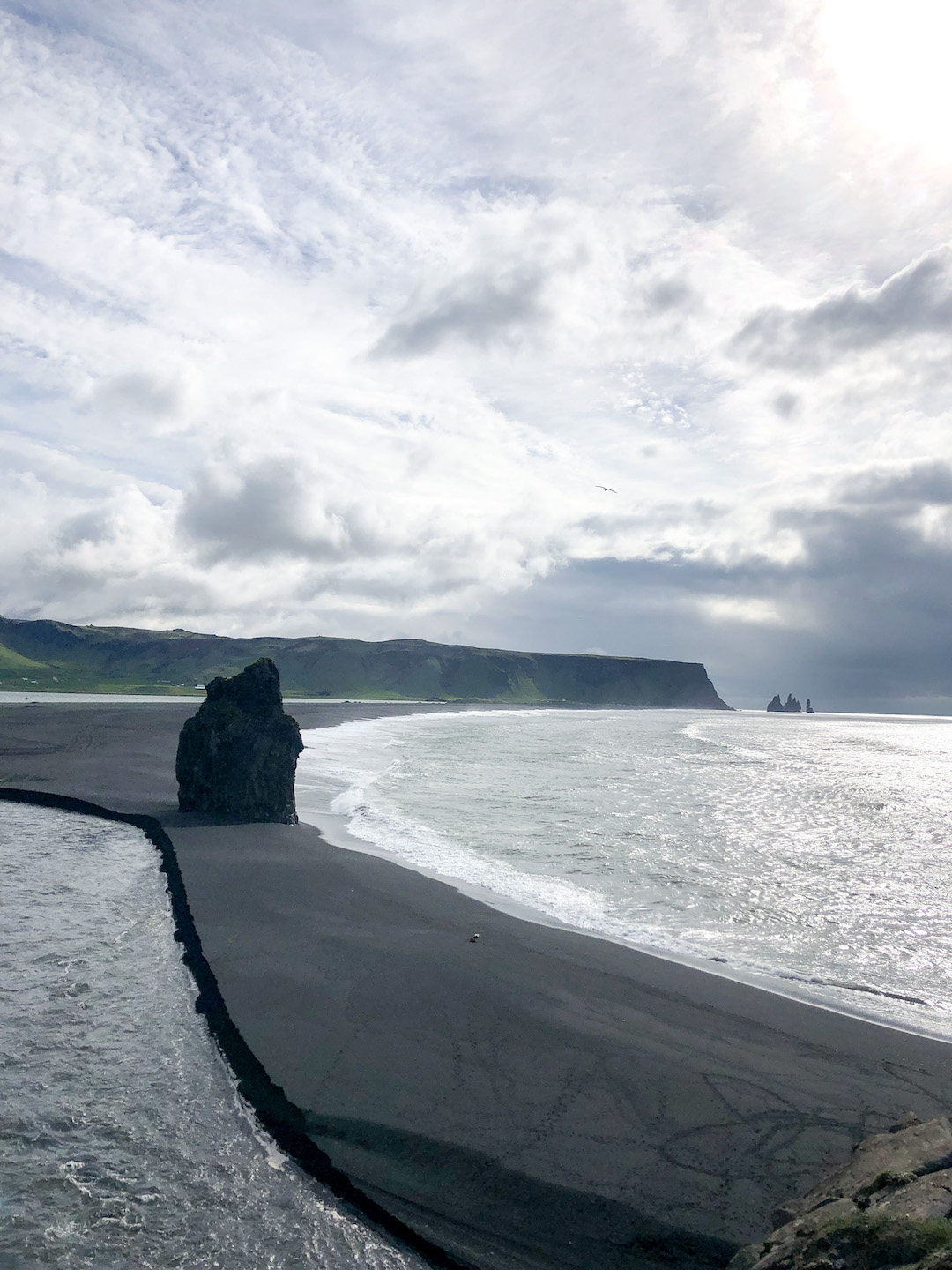 Views from Dyrholaey, Iceland
