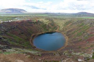 Kerid Crater, Golden Circle, Iceland