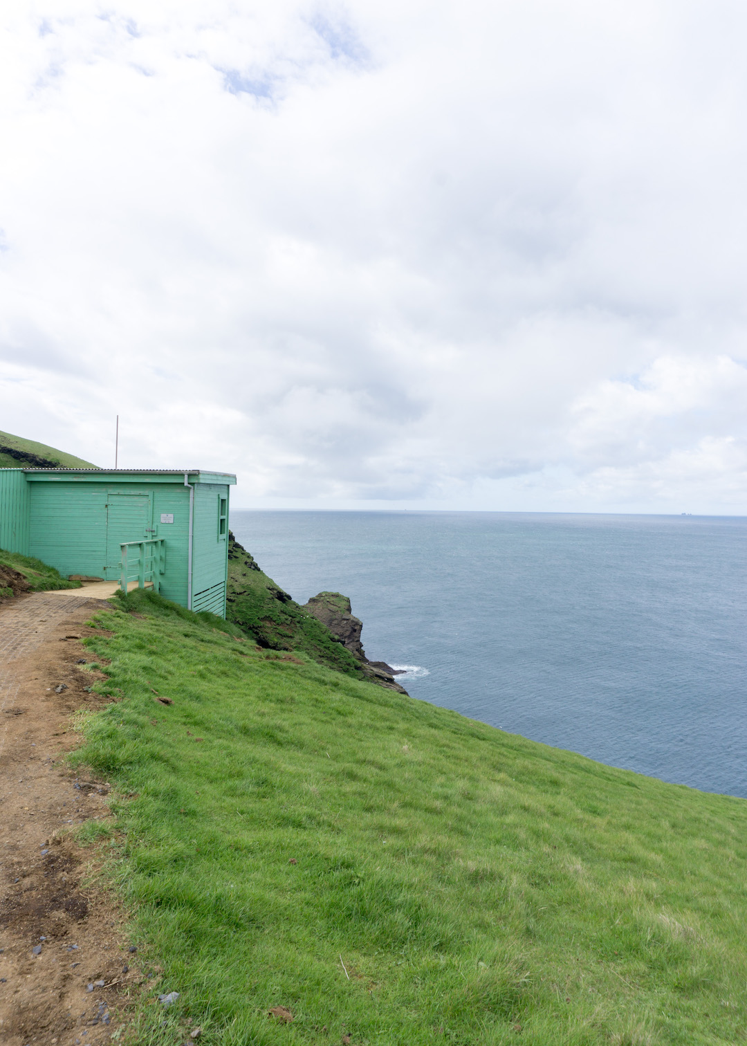 Puffin Lookout in Westman Islands, Iceland