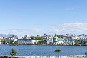 Reykjavik from across the river