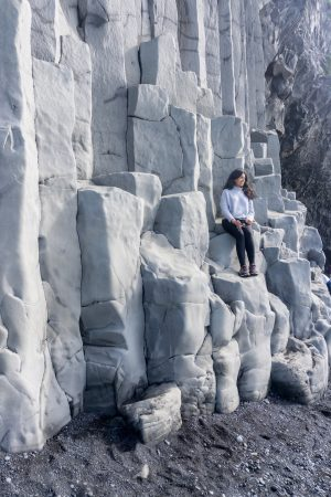 Basalt Columns, Black Sand Beach, Iceland