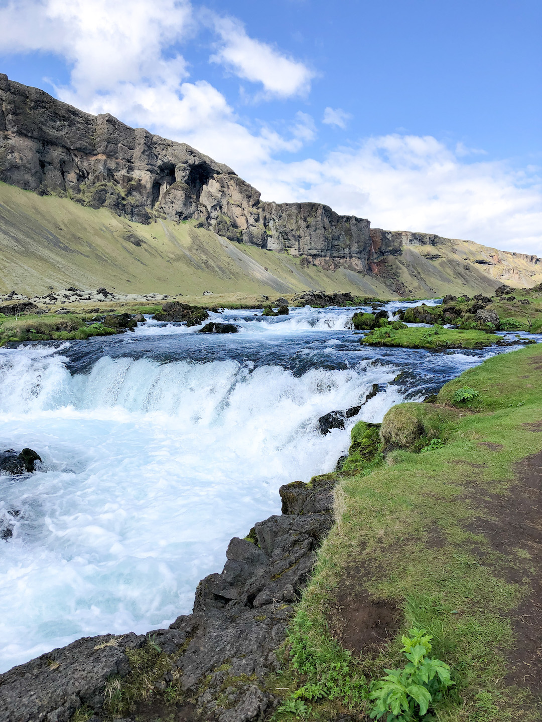 Stops along the Ring Road in Iceland