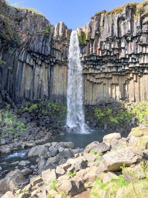 Svartifoss Basalt Pillars