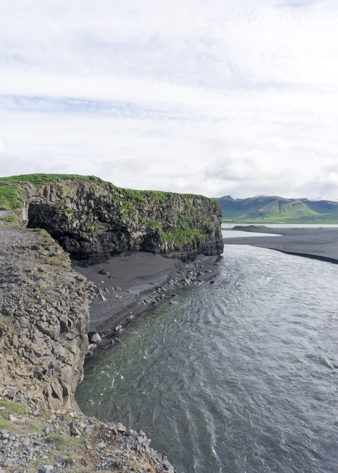 Views from Dyrholaey, South Coast, Iceland