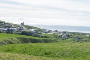 Town of Vik in Iceland