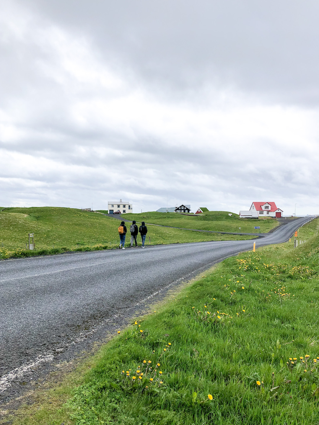 Walking to the Puffin Lookout, Westman Islands