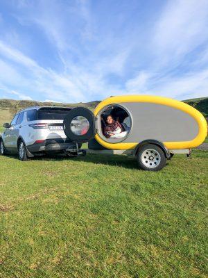 Her Travel Edit in the Mink Camper, Iceland